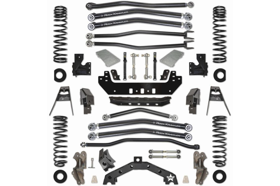 Rock Krawler 3.5in Adventure-X Long Arm Suspension Kit  -JL 4dr