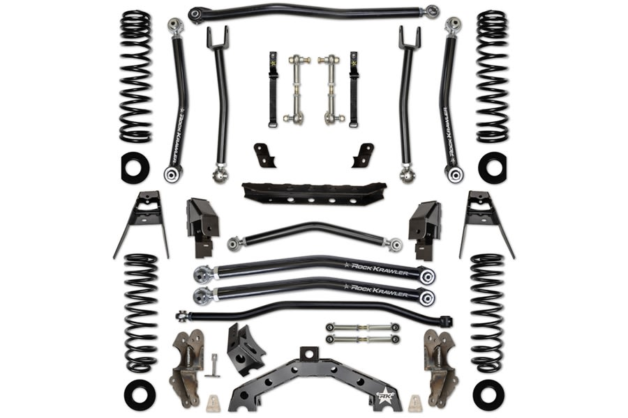 Rock Krawler 3.5in T-Rex Suspension System -JL 2Dr