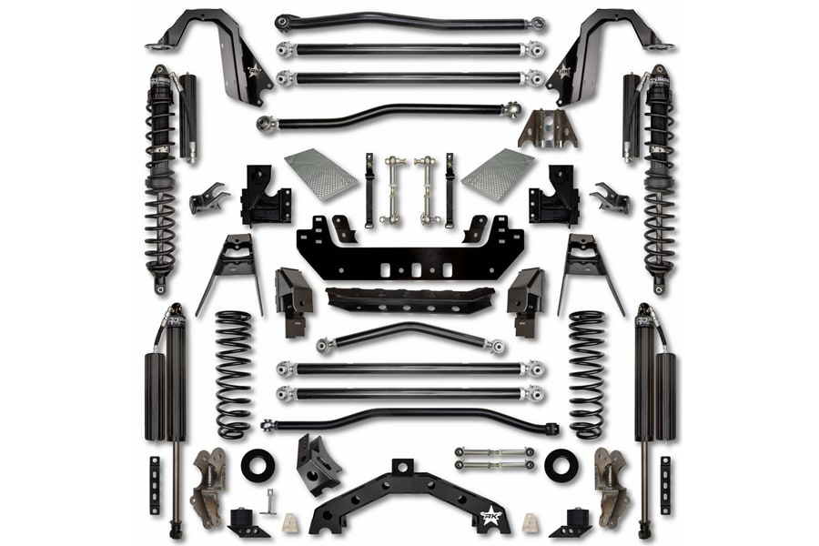 Rock Krawler 4.5in X Factor X2 Long Arm Trail Runner System Lift Kit -JL 4dr