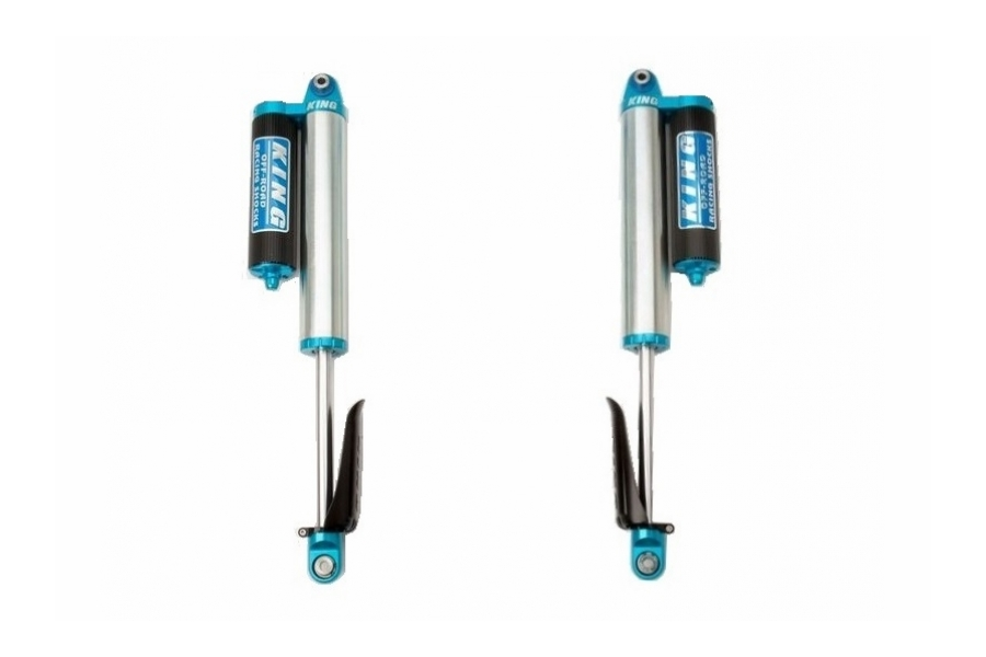 EVO Manufacturing 2.5in SPEC King Front Remote Reservoir Shocks for 3-5in Lift Pair - JL