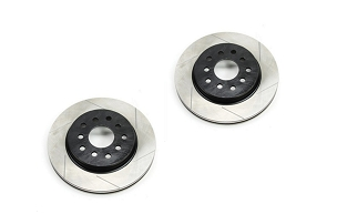 Teraflex Front Big Brake Slotted Rotor Kit, Pair  - JK