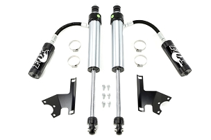 Fox 2.5 Factory Series Internal Bypass Reservoir Shocks Front 2.5-4in Lift - JK