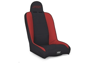 PRP Seats Daily Driver High Back Seat Black/Red