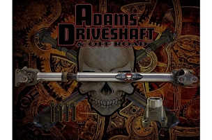 Adams Driveshaft Extreme Duty Series Front 1310 Solid CV Driveshaft with OEM Flange  - JT Rubicon
