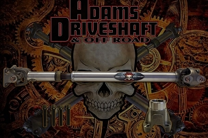 Adams Driveshaft Extreme Duty Series 1310 Solid Front CV Driveshaft - w/Flange - JT