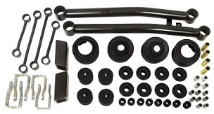 Daystar 2in Comfort Ride Lift Kit w/ Shocks - JL