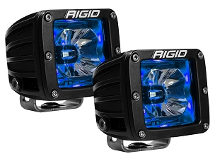 Rigid Industries Radiance Pod Blue Backlit