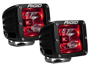 Rigid Industries Radiance Pod Red Backlit