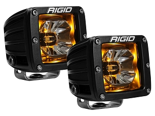 Rigid Industries Radiance Pod Amber Backlit