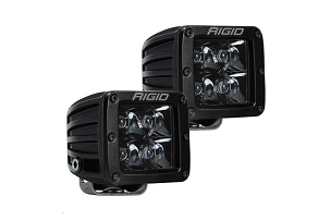 Rigid Industries D-Series PRO Midnight Spot Lights, Pair