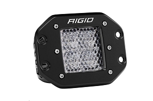 Rigid Industries D-Series Pro Flood Light Flush Mount Diffused