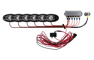 Rigid Industries A-Series Deck Light Kit Cool White
