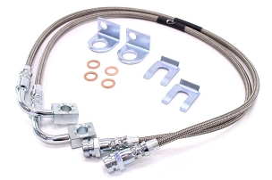 Rock Krawler Long Travel Brake Lines Rear -JK