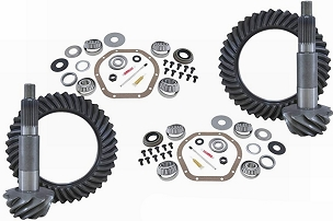 Yukon Regear and Master Overhaul Kits, Dana M186/M220 - JL Non-Rubicon w/M220 Rear