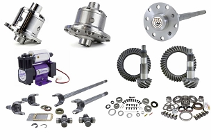 Yukon Zip Lockers, Compressor, Gear & Axle Shafts Package - JK Non-Rubicon